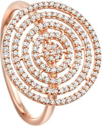 Astley Clarke | Metallic Icon Aura 14ct Rose-gold And Diamond Ring | Lyst