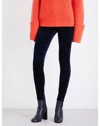 J Brand - Black 815 Super-skinny Velvet Jeans - Lyst