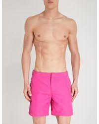 Orlebar Brown - Pink Bulldog Regular-fit Swim Shorts for Men - Lyst