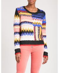 Free People - Multicolor Best Day Ever Striped Knitted Jumper - Lyst