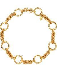 Links of London - Metallic Capture 18ct Yellow-gold Vermeil Bracelet - Lyst