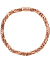 Links of London | Metallic Effervescence Star Extra-small Rose-gold Plated Bracelet | Lyst