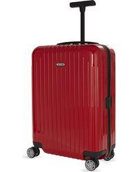 Rimowa - Black Salsa Air Polycarbonate Four-wheel Suitcase 55cm for Men - Lyst