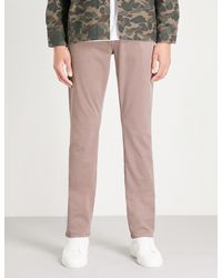 PAIGE - Pink Federal Slim-fit Jeans for Men - Lyst