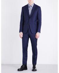 Paul Smith - Blue Kensington-fit Wool Suit for Men - Lyst