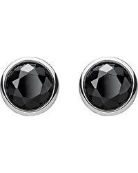 Thomas Sabo - Metallic Classic Black Stone Sterling Silver Ear Studs - Lyst