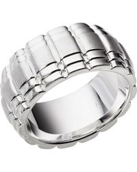 Links of London | Metallic Venture Sterling Silver Ring | Lyst