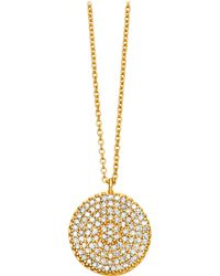 Astley Clarke | Metallic Icon 14ct Yellow-gold Pendant | Lyst