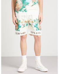 Billionaire Boys Club - Ice Cream - Multicolor Landscape-print Cotton Shorts for Men - Lyst