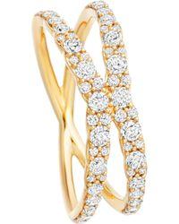 Astley Clarke - Metallic Interstellar 14ct Yellow-gold Diamond Fusion Ring - Lyst