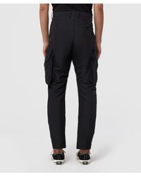 Neil Barrett Black Parachute Techno Cargo Pant for men
