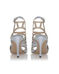 Nine West - Metallic Nasira High Heel Sandals - Lyst