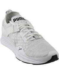 39a5b95140f Lyst - Puma Ignite Evoknit Lo Ignite Evoknit Lo in White for Men