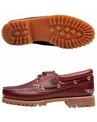 Timberland - Red Heritage 3-eye Classic Lug for Men - Lyst