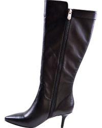 Adrienne Vittadini - Black Swanny Tall Boot - Lyst