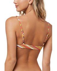 1b13517344d683 Lyst - O neill Sportswear Anacapa Bikini Top