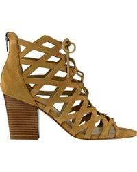 Marc Fisher - Natural Blair Ghillie Sandal - Lyst
