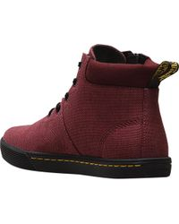 Dr. Martens - Red Maegley 5-eye Ankle Bootie - Lyst