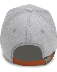 Original Penguin - Gray Chambray Pre-curved Ball Cap for Men - Lyst