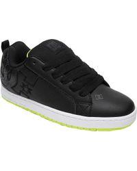 DC Shoes - Black Court Graffik for Men - Lyst