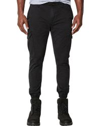 "Timberland - Black Lovell Lake Slim Tapered Hybrid Cargo Pant 32"" Leg for Men - Lyst"