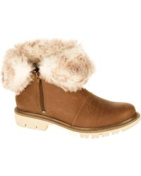 Caterpillar - Multicolor Flurry Fur Waterproof Bootie - Lyst