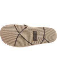 Scott Hawaii - Brown Kapena Flip Flop for Men - Lyst