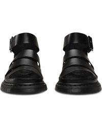 Dr. Martens - Black Clarissa Chunky Strap Sandal - Lyst