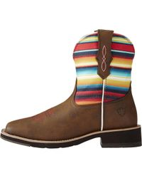 Ariat - Brown Rosie Cowgirl Boot - Lyst