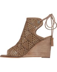 Lucky Brand - Brown Riskee Wedge Sandal - Lyst