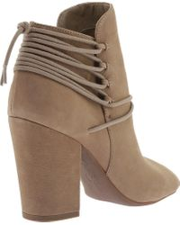 Jessica Simpson - Brown Remni Peep Toe Bootie - Lyst