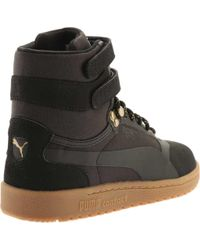 PUMA - Black Sky Ii Hi Weatherproof High Top Sneaker for Men - Lyst