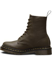 Dr. Martens - Green Pascal 8-eye Boot for Men - Lyst
