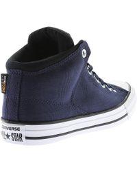 Converse | Blue Chuck Taylor All Star High Street Hi-cordura for Men | Lyst