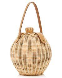 Ulla Johnson - Natural Tautou Wicker Basket Bag - Lyst