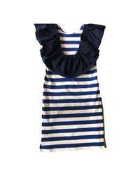 Sea - Blue St. Tropez Ruffle Dress - Lyst