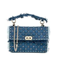 Valentino - Blue Small Shoulder Bag - Lyst