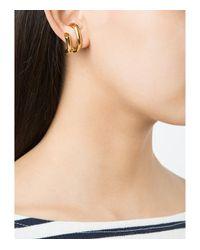 Charlotte Chesnais - Metallic Gold Round Shape Earrings - Lyst