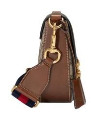 Gucci | Brown Dionysus Medium Gg Supreme Hobo Bag | Lyst