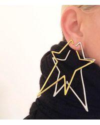 Jennifer Fisher - Metallic Silver Left Single Star Earring - Lyst
