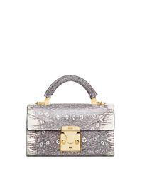 Stalvey - Natural Mini Top Handle Bag - Lyst