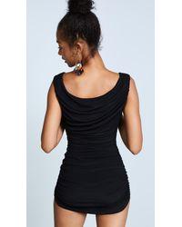 Norma Kamali | Black Tara Swim Dress | Lyst