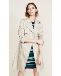 SOIA & KYO - Natural Athena Trench Coat - Lyst