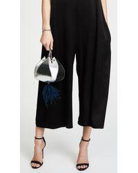 The Volon - Metallic Cindy Feather Bag - Lyst