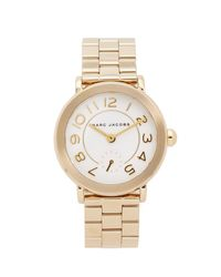 Marc Jacobs - Metallic New Classic Watch - Lyst