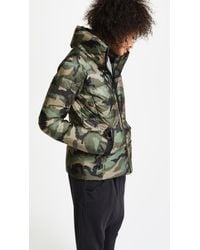 Sam. - Green Camo Freestyle Quilted Jacket - Lyst