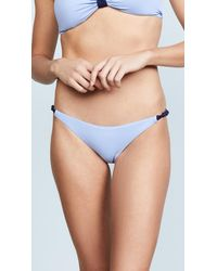 Eberjey - Blue So Solid Reversible Perry Bottoms - Lyst