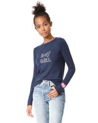 J Brand - Blue X Bella Freud Boy Girl Jumper - Lyst