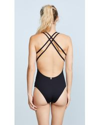 OndadeMar - Black Every Day In Colors One Piece - Lyst