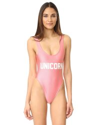 Private Party - Pink Unicorn One Piece - Lyst